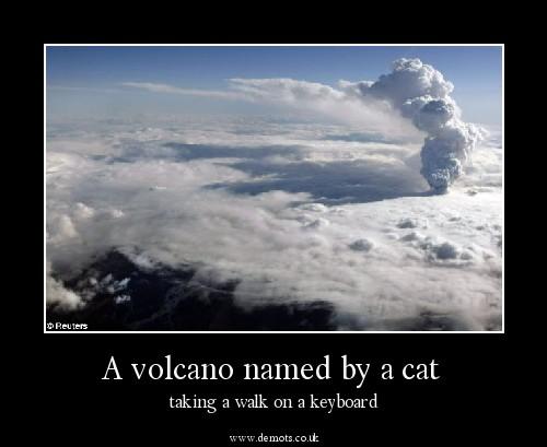 Naming volcano