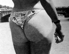 Tan bikini