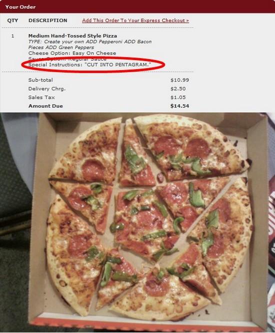 Devils pizza