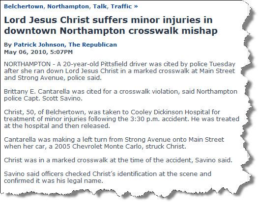 Lord jesus injured