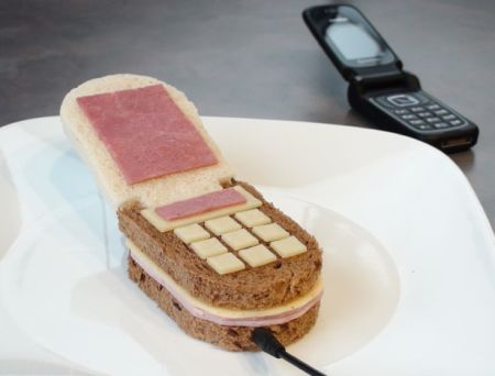 Phone sandwich