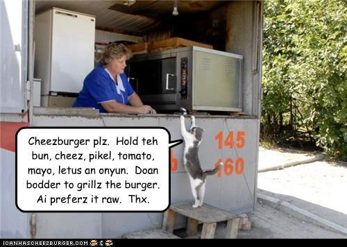 Cheezburger plz