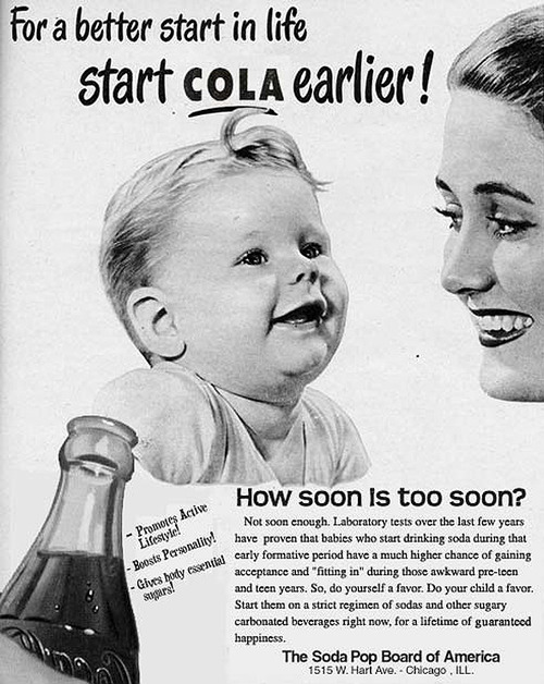 Cola for babies
