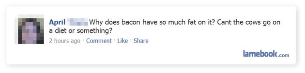 Bacon question