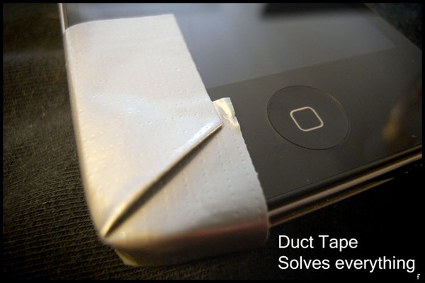 Duct tape iphone
