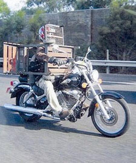 Grill bike
