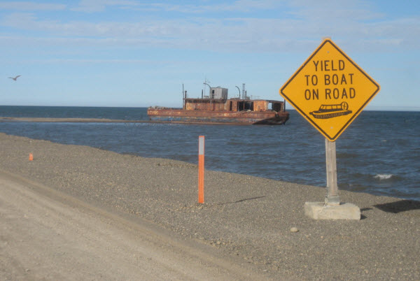 Yield to boat