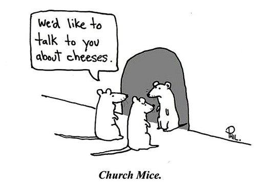 Church mice