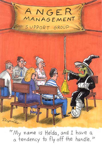 Anger management halloween