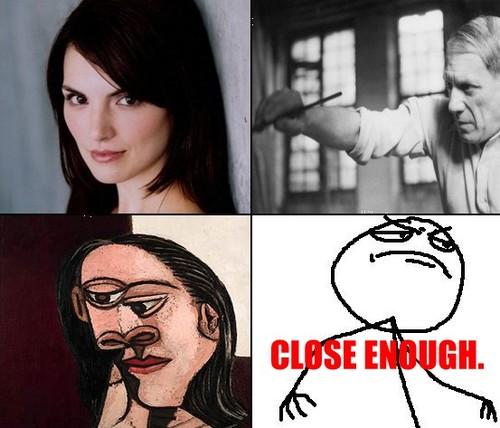 Close enough artist