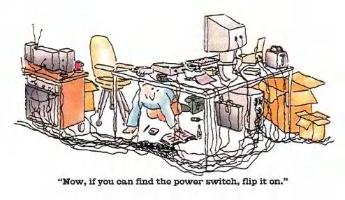 Find the power switch