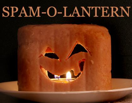 Spam-o-lantern
