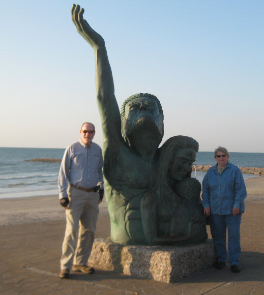 Statue galveston
