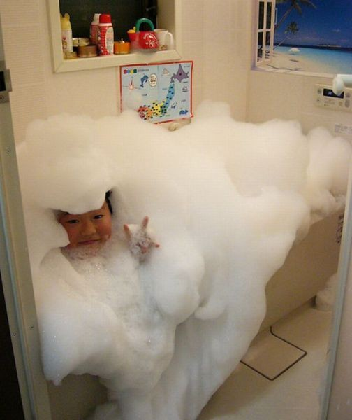 Best bubble bath ever
