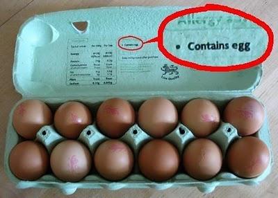 Contains egg