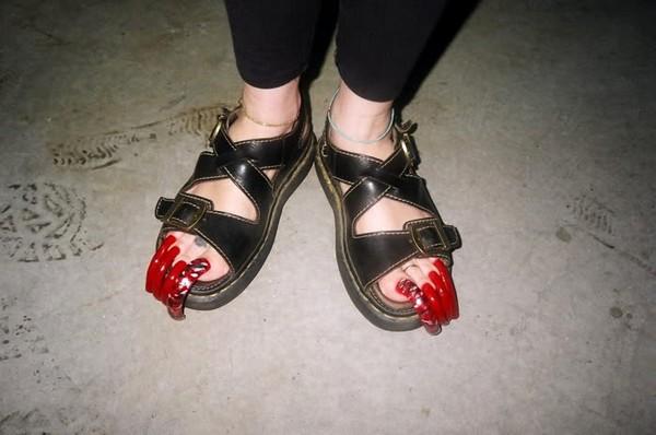 Freaky feet