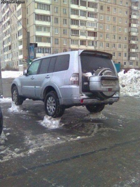 No Parking on snow daysa