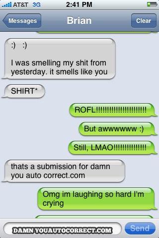 Smelling-shit