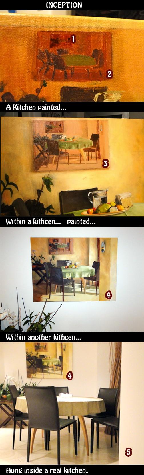 Kitchen inception