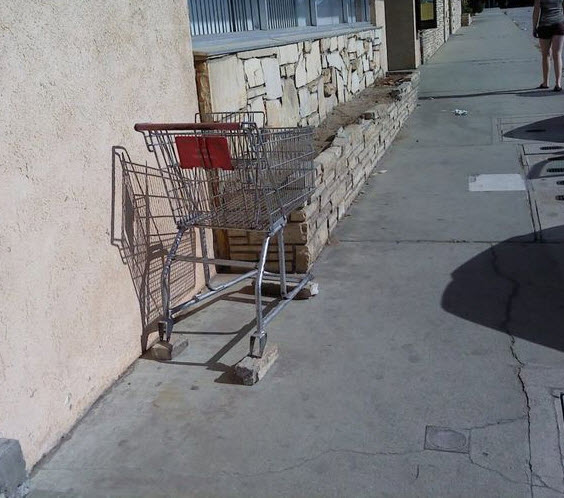 Ghetto shopping cart