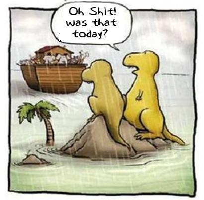 Dinosaur and the ark