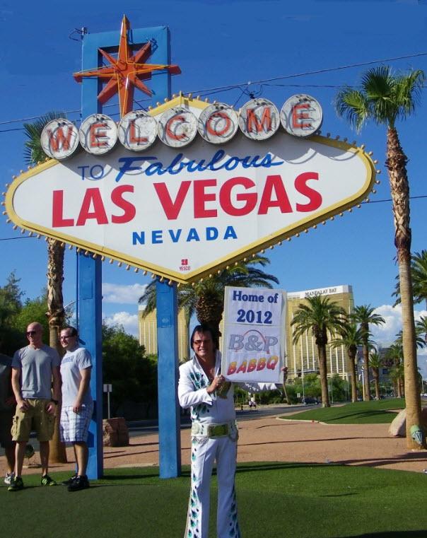Vegas sign Elvis