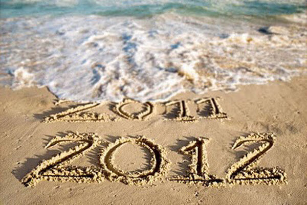 New years beach