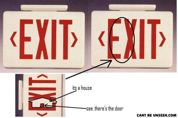 House exit