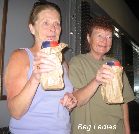 Bag ladies