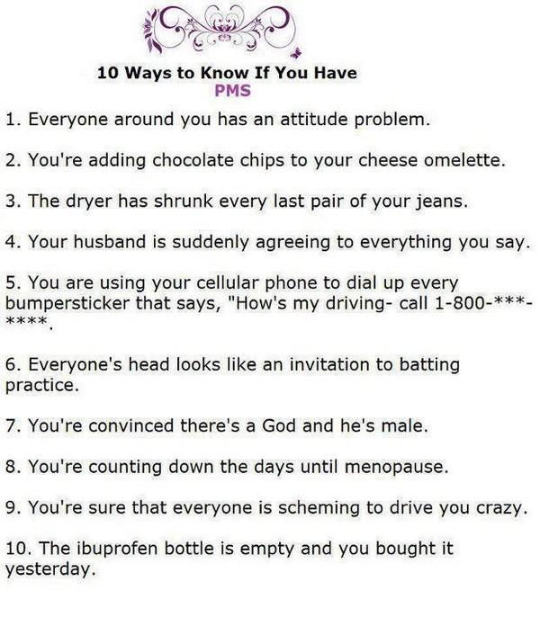 10 ways pms