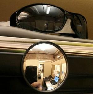 Óculos de sol espelho