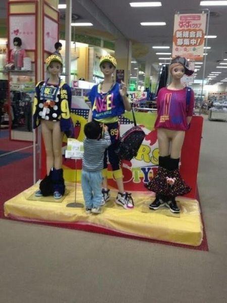 Crianças com futuros traumas sexuais