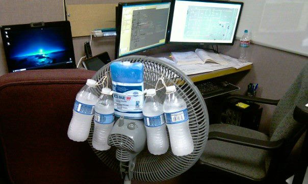 Hvac Cooling Fan : Git air dun red neck conditioning ideas