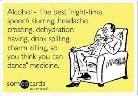 Alcohol medicine