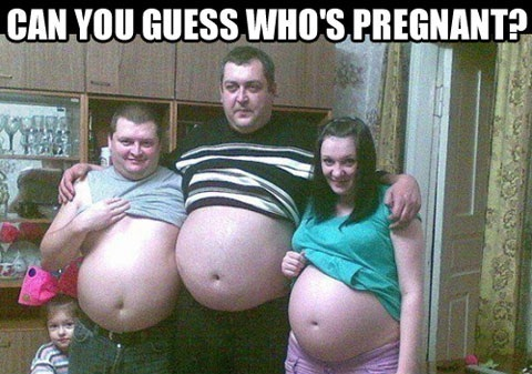 Guess whos pregnant