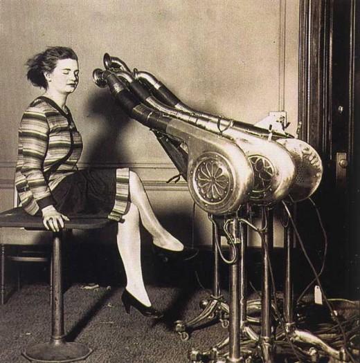Hairdryer in 1920