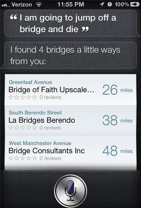 Helpful siri