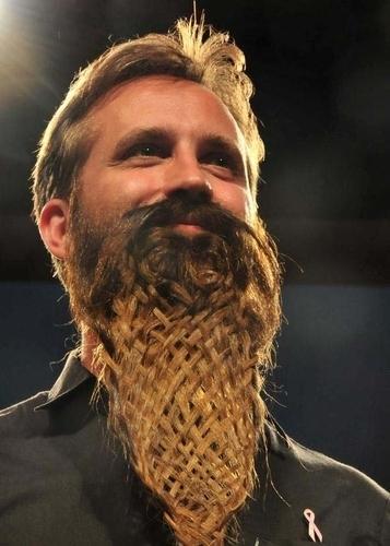 Movember basket weave