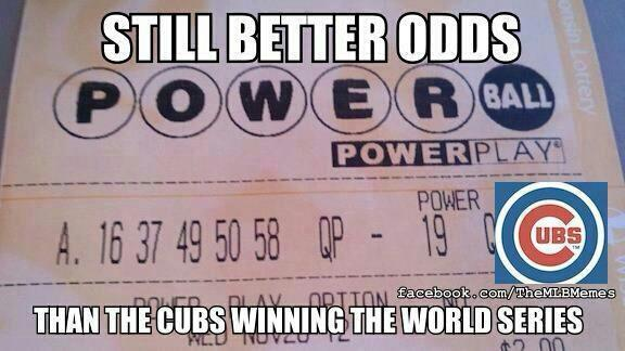 Still better odds