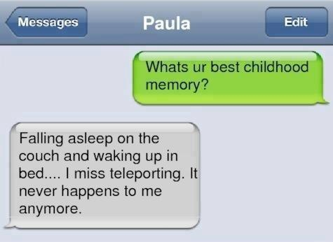 Best childhood memory