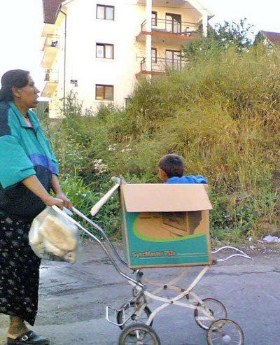 Box stroller