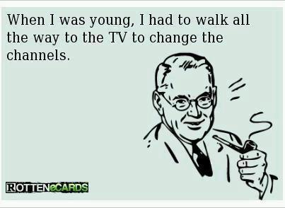 When I was young - tv