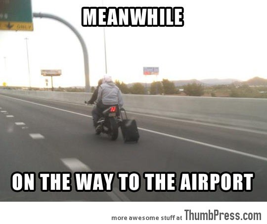 Going-to-the-airport…