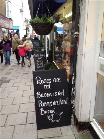 Pork poetry