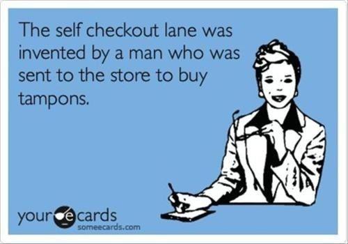 Self chechout lane