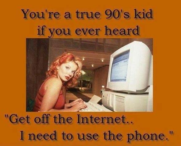 A true 90s kid