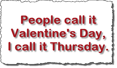 People call it vaslentines day