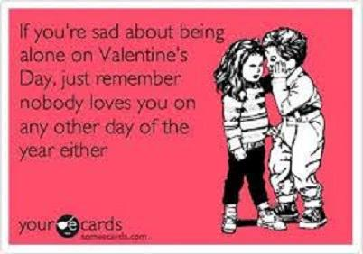 Sad on valentines day