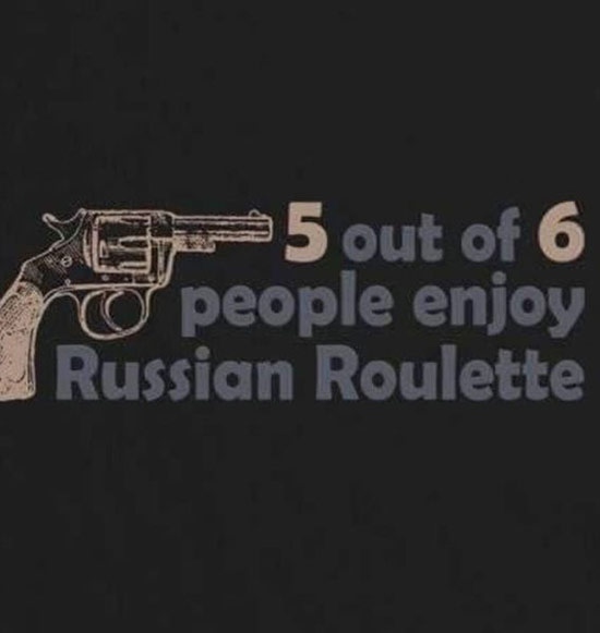 Russian roulette weed piece