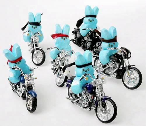 Biker peeps